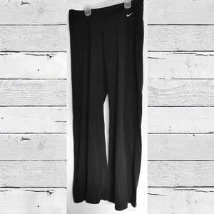 Nike Dry-Fit Size Large L Black Pants Athletic